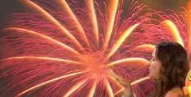 Fireworks Mural